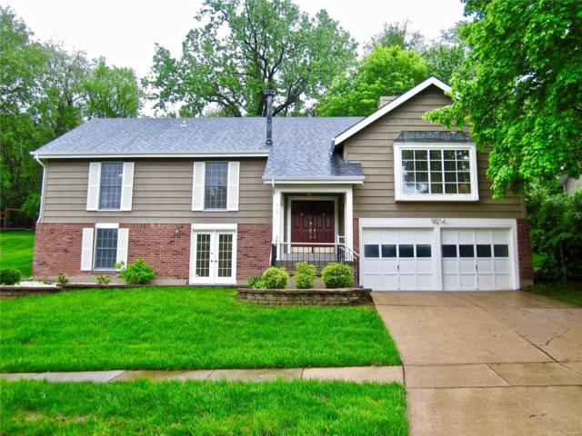 608 Valley Point Lane, Ballwin, MO 63021 (#19032632) :: The Becky O'Neill Power Home Selling Team