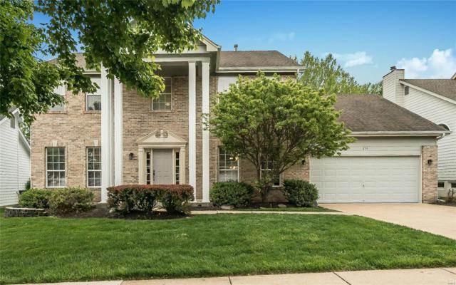254 Lansbrooke Drive, Chesterfield, MO 63005 (#19034686) :: The Becky O'Neill Power Home Selling Team