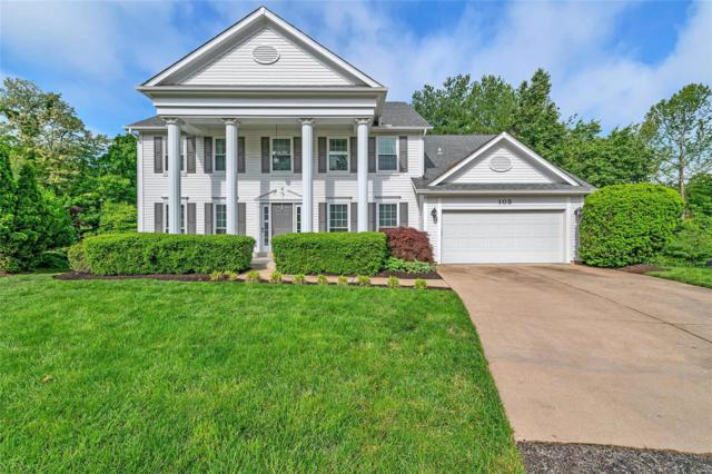 103 Crystal Springs Court, Chesterfield, MO 63005 (#19034734) :: The Becky O'Neill Power Home Selling Team