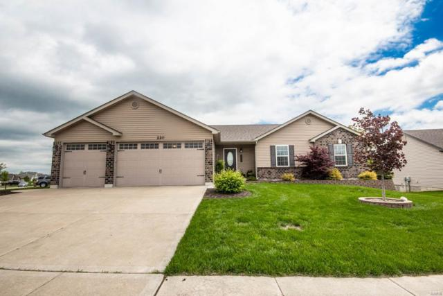 220 Prairie Lake Drive, Foristell, MO 63348 (#19036074) :: The Becky O'Neill Power Home Selling Team