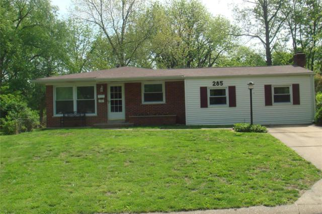 285 Saint Patrick Lane, Florissant, MO 63031 (#19036470) :: The Becky O'Neill Power Home Selling Team