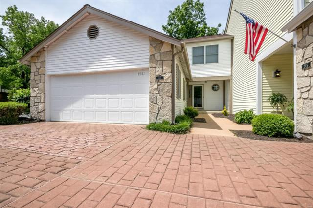 1581 Walpole Drive, Chesterfield, MO 63017 (#19037715) :: The Becky O'Neill Power Home Selling Team