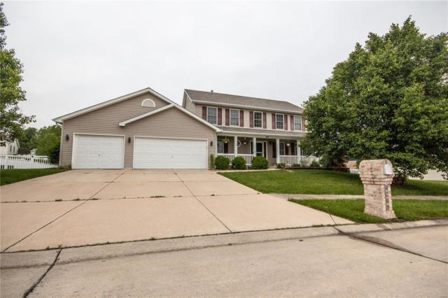 4205 Bedford Creek Lane, Wentzville, MO 63385 (#19038492) :: The Becky O'Neill Power Home Selling Team