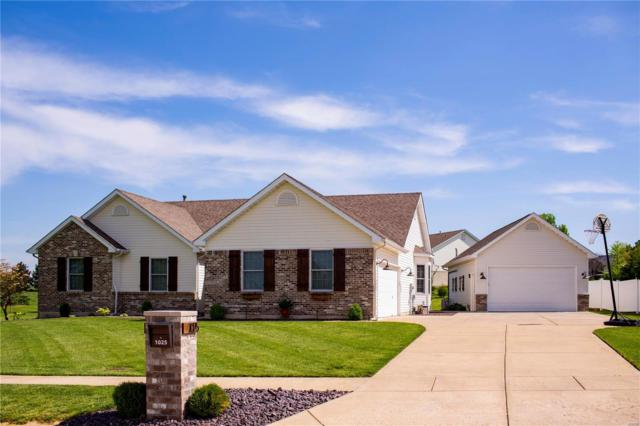 1025 Highland Estates Drive, Wentzville, MO 63385 (#19038633) :: The Kathy Helbig Group