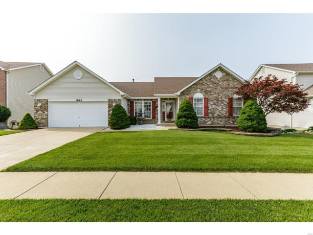 1862 Williamstown Drive, Saint Peters, MO 63376 (#19039915) :: Clarity Street Realty