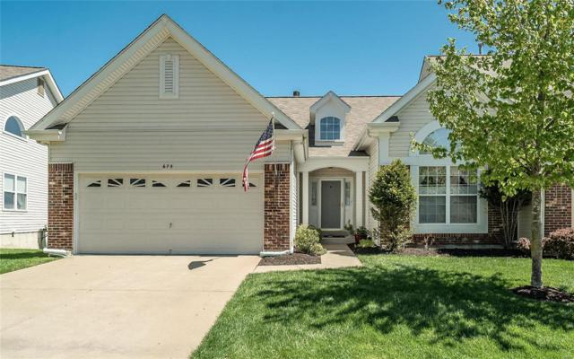 675 Bluffs View Court, Eureka, MO 63025 (#19040767) :: The Kathy Helbig Group