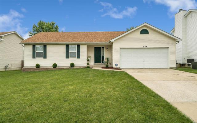 554 Topaz Drive, O'Fallon, MO 63366 (#19044002) :: Kelly Hager Group | TdD Premier Real Estate