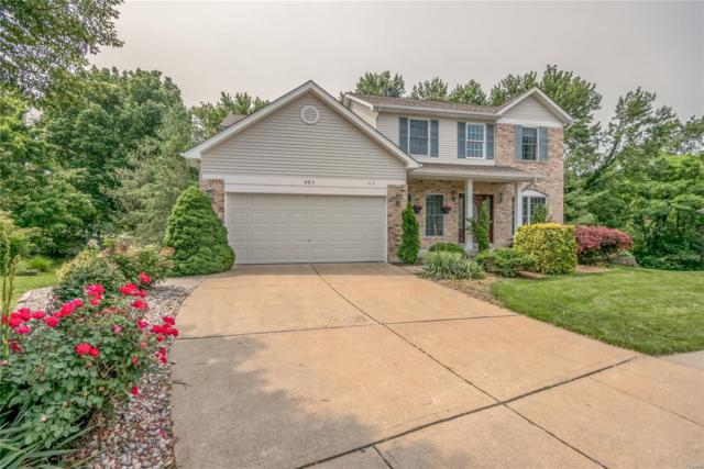 463 Valley Manor Drive, Ballwin, MO 63021 (#19044054) :: St. Louis Finest Homes Realty Group
