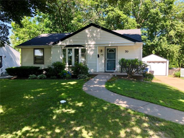 70 Chateau Dr., Florissant, MO 63031 (#19044353) :: Clarity Street Realty