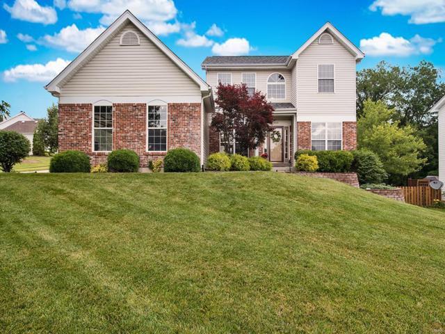 863 Emerald Oaks Court, Eureka, MO 63025 (#19044655) :: Ryan Miller Homes