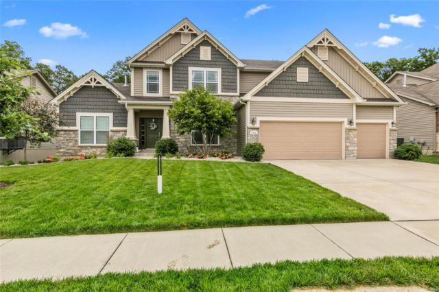 320 Parkview Manor Lane, Wentzville, MO 63385 (#19044789) :: Ryan Miller Homes