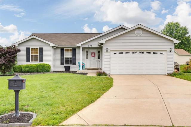 708 Blumhoff Avenue, Wentzville, MO 63385 (#19044936) :: Barrett Realty Group