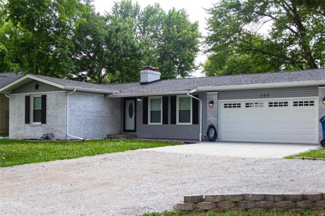 588 Westview Drive, Edwardsville, IL 62025 (#19045577) :: Holden Realty Group - RE/MAX Preferred