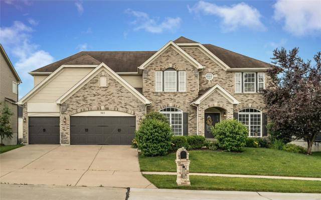 305 Parkview Manor Lane, Wentzville, MO 63385 (#19045920) :: The Kathy Helbig Group