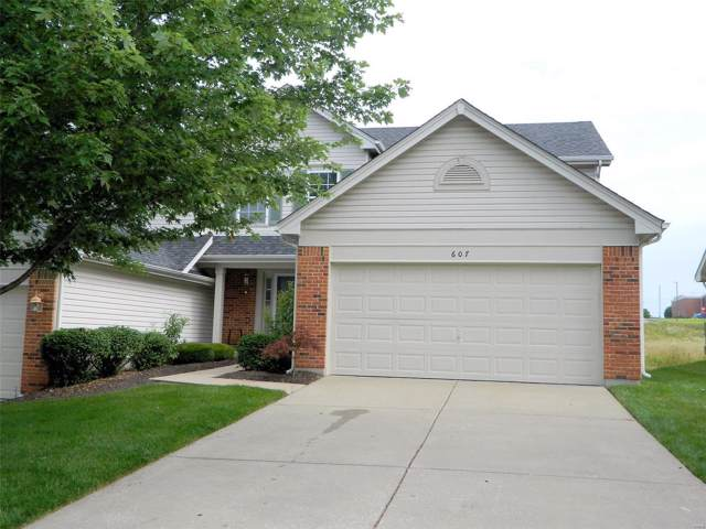 607 Hawk Run Drive 4A, O'Fallon, MO 63368 (#19048294) :: St. Louis Finest Homes Realty Group