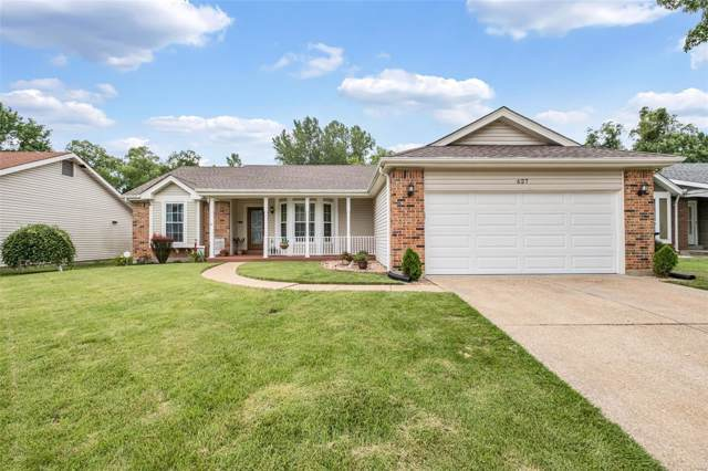 627 Foxtail Drive, Florissant, MO 63034 (#19049515) :: Clarity Street Realty