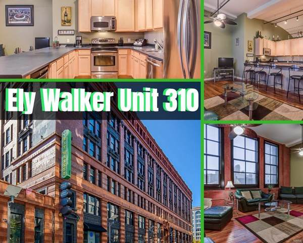 1520 Washington Avenue #310, St Louis, MO 63103 (#19049989) :: Holden Realty Group - RE/MAX Preferred