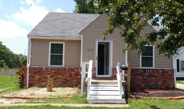 504 Garrison Avenue, Cahokia, IL 62206 (#19050093) :: Holden Realty Group - RE/MAX Preferred