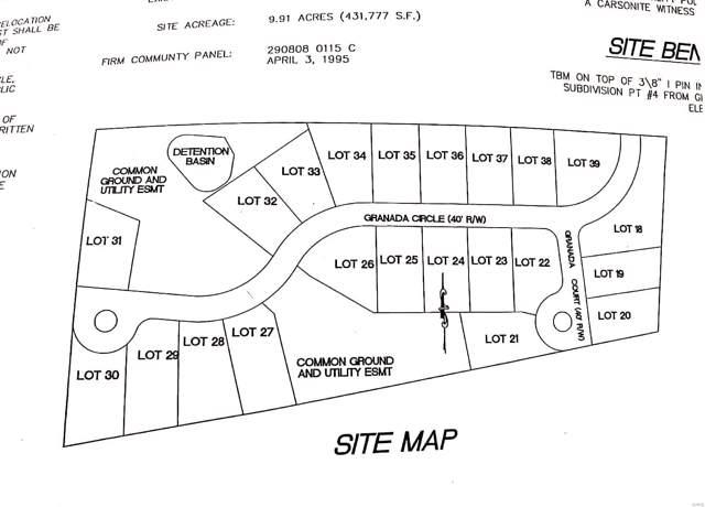 0 Granada Meadows 9.7 +/-Ac, Hillsboro, MO 63050 (#19050932) :: RE/MAX Professional Realty