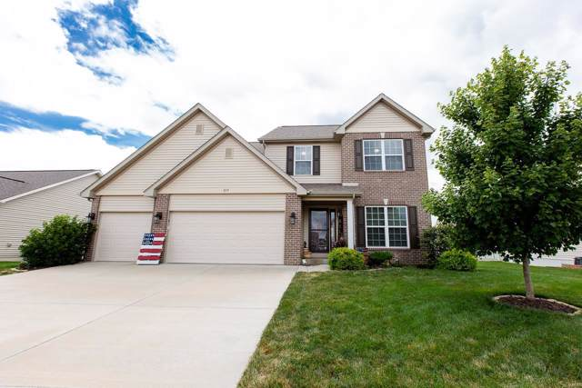 837 Bluff Ridge Lane, Belleville, IL 62221 (#19052745) :: The Becky O'Neill Power Home Selling Team