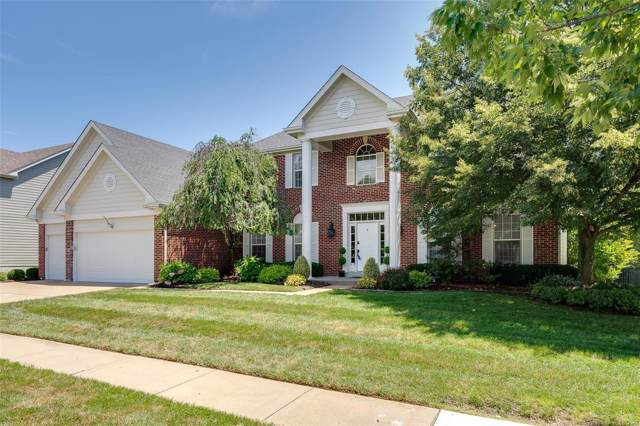 1272 Bluffview Ridge Drive, Chesterfield, MO 63005 (#19052993) :: The Becky O'Neill Power Home Selling Team