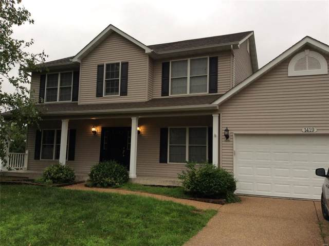 1419 Devonshire County Drive Unity, Wentzville, MO 63385 (#19053636) :: The Kathy Helbig Group