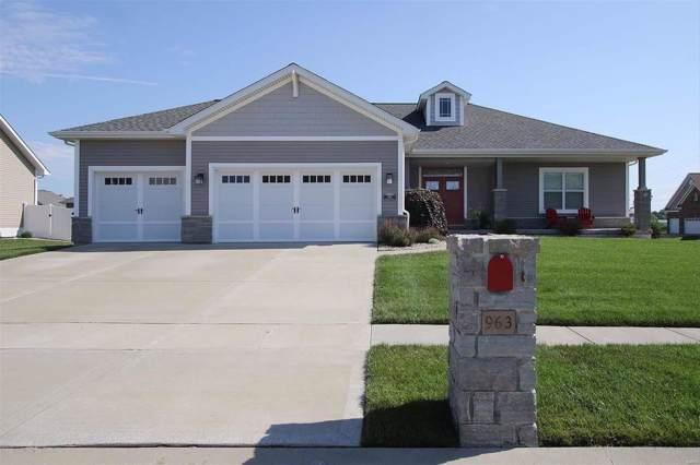 963 Carnegie Knolls Drive, O'Fallon, IL 62269 (#19054189) :: Clarity Street Realty