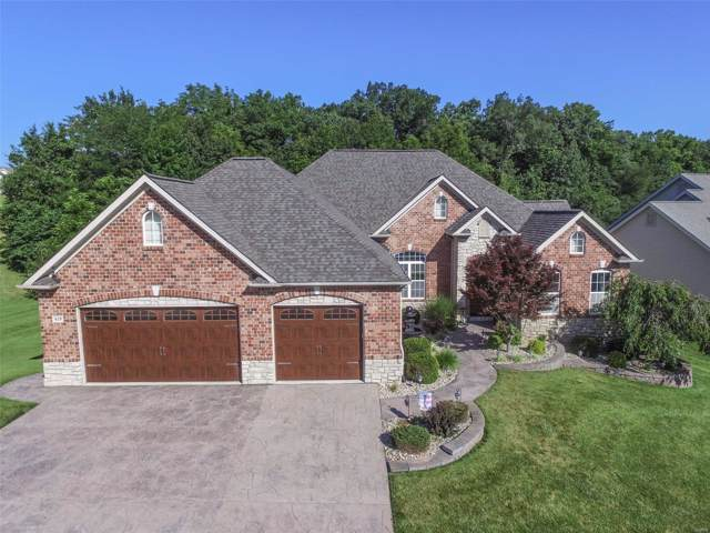 419 Highland Meadows Place, Wentzville, MO 63385 (#19054268) :: Kelly Hager Group | TdD Premier Real Estate