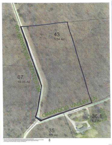 5 .54 Acres - Riverwoods Estates Drive, Saint Clair, MO 63077 (#19054578) :: RE/MAX Professional Realty