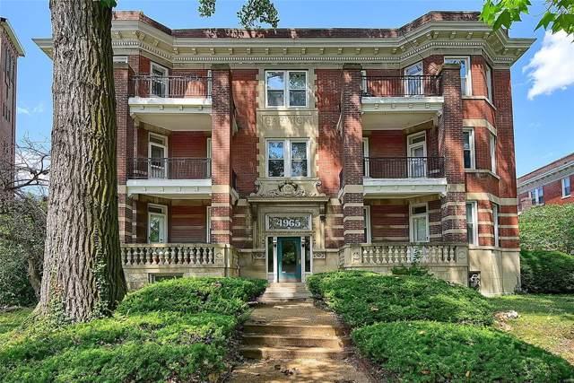 4965 Mcpherson Avenue F, St Louis, MO 63108 (#19054922) :: Peter Lu Team