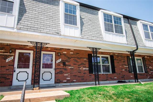 837 Dumont Pl, St Louis, MO 63125 (#19054952) :: RE/MAX Professional Realty