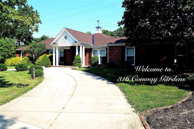 316 Conway Gardens Court, Creve Coeur, MO 63141 (#19054970) :: RE/MAX Vision