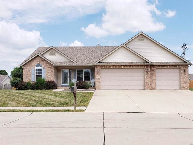 1468 Dale Dr, Troy, IL 62294 (#19054975) :: Holden Realty Group - RE/MAX Preferred