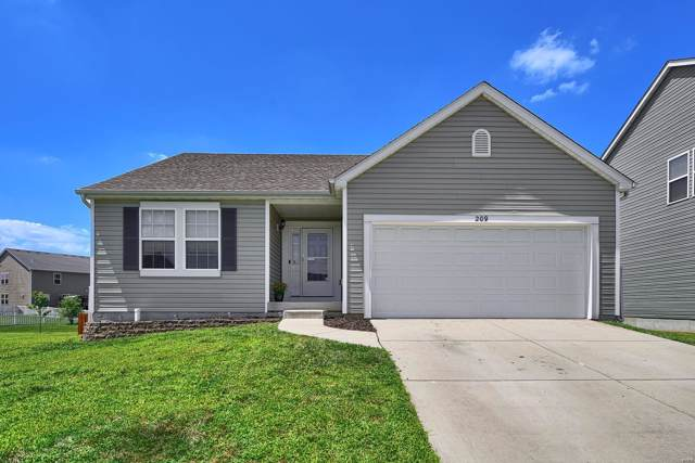 209 Greenleaf Circle, Belleville, IL 62221 (#19058219) :: Holden Realty Group - RE/MAX Preferred
