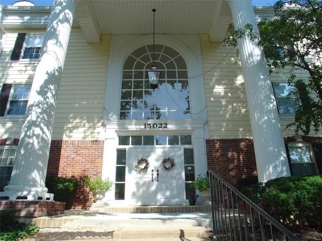 15022 Claymoor Court #15, Chesterfield, MO 63017 (#19059019) :: Realty Executives, Fort Leonard Wood LLC