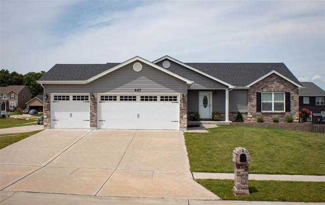 447 Prairie Creek Drive, Foristell, MO 63348 (#19060294) :: The Kathy Helbig Group