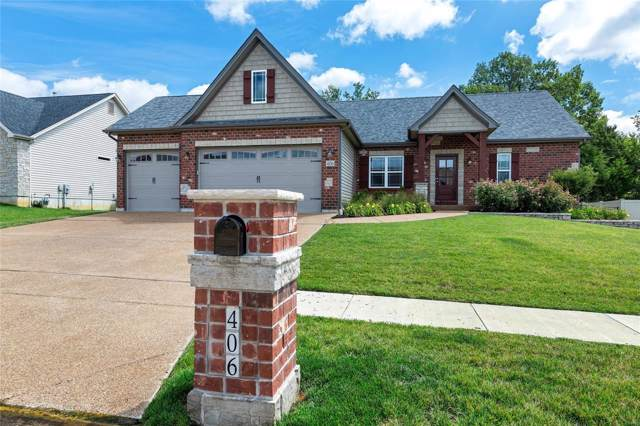 406 Cottage Grove Drive, Wentzville, MO 63385 (#19061135) :: The Becky O'Neill Power Home Selling Team