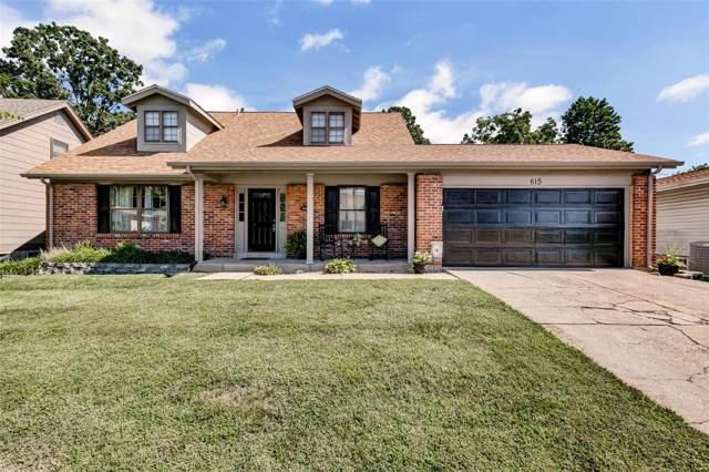615 Running Creek, Ballwin, MO 63021 (#19061260) :: St. Louis Finest Homes Realty Group