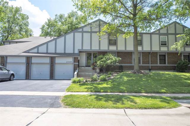 2368 Seven Pines #6, St Louis, MO 63146 (#19061264) :: RE/MAX Professional Realty