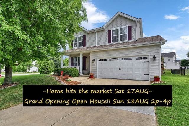 2283 Amberleigh Drive, Maryville, IL 62062 (#19061271) :: RE/MAX Vision