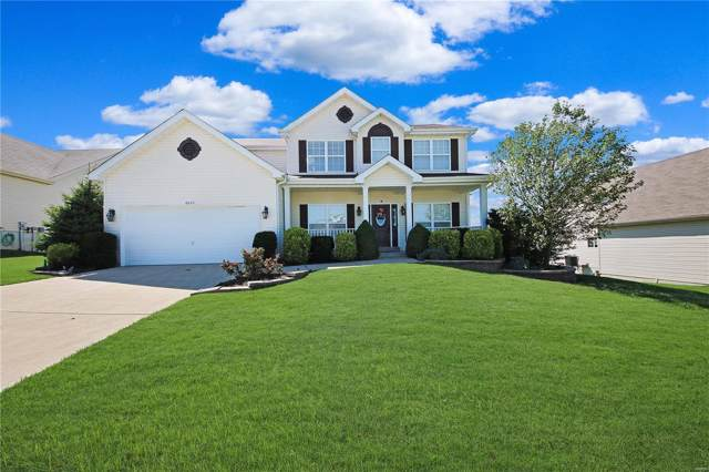 6043 Blake Thomas Drive, Wentzville, MO 63385 (#19061383) :: The Becky O'Neill Power Home Selling Team