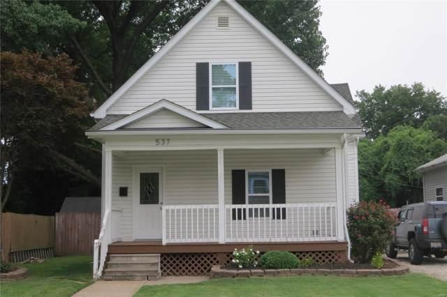 537 Norwood Avenue, Collinsville, IL 62234 (#19062072) :: RE/MAX Vision