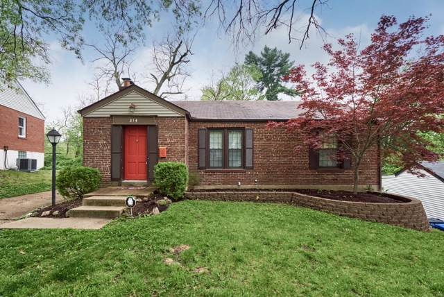 214 Moundale, St Louis, MO 63135 (#19062253) :: The Becky O'Neill Power Home Selling Team