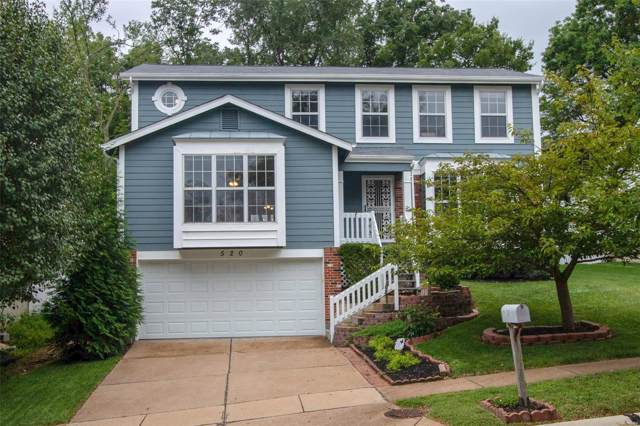 520 Woodlyn Crossing, Ballwin, MO 63021 (#19063849) :: St. Louis Finest Homes Realty Group