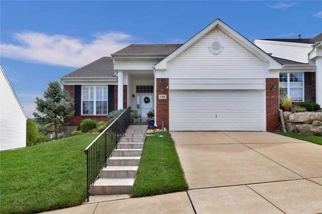 540 Hilltop Townes Drive, Eureka, MO 63025 (#19063916) :: The Kathy Helbig Group