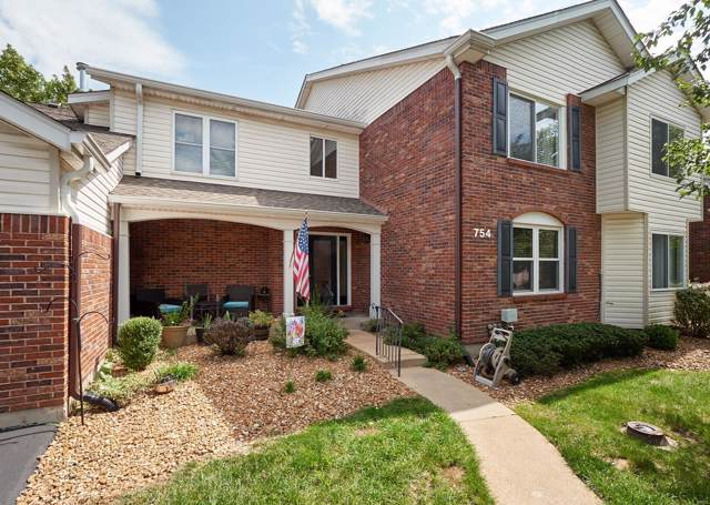 754 Woodside Trails Drive #202, Ballwin, MO 63021 (#19067129) :: St. Louis Finest Homes Realty Group