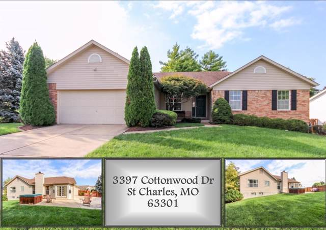 3397 Cottonwood Drive, Saint Charles, MO 63301 (#19067247) :: Clarity Street Realty