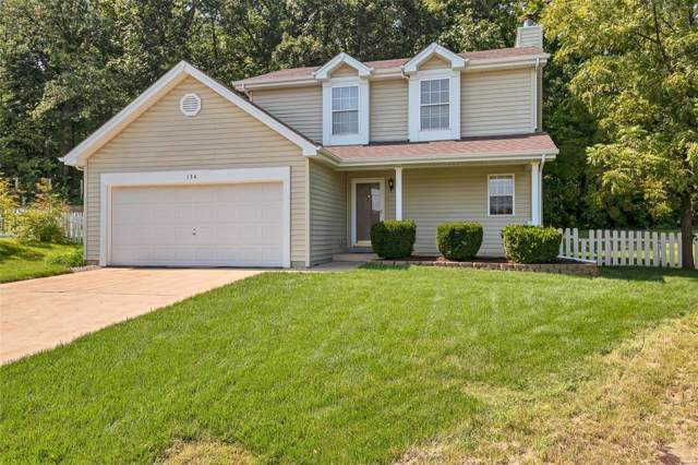 134 Langtree Drive, Wentzville, MO 63385 (#19067385) :: Kelly Hager Group | TdD Premier Real Estate