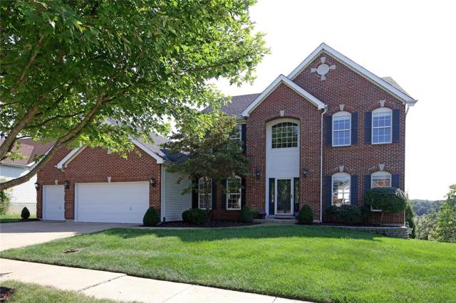 737 Castle Ridge Drive, Ballwin, MO 63021 (#19067504) :: Kelly Hager Group | TdD Premier Real Estate
