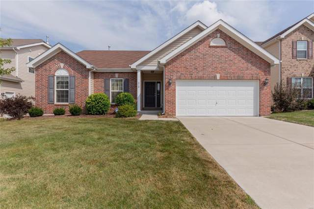 312 Misty Brook, Wentzville, MO 63385 (#19067514) :: Matt Smith Real Estate Group